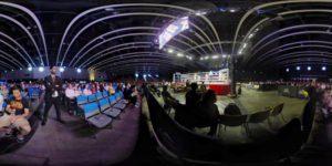 香港王者对决3拳击赛 暗光舞台高动态